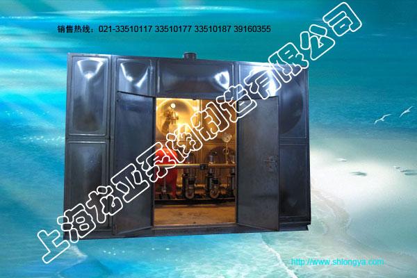 不锈钢无负压水箱式供水设备