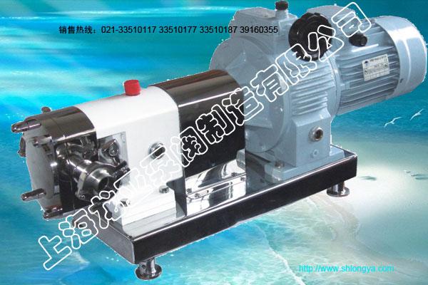 RP无极变速转子泵